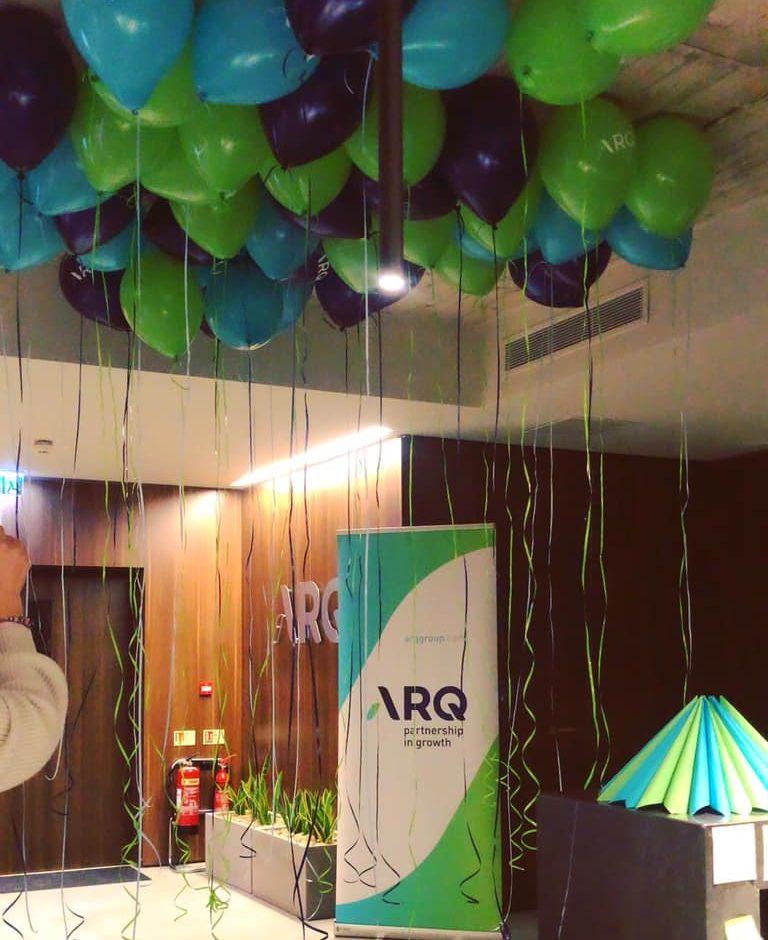 ARQ Rebrand Launch
