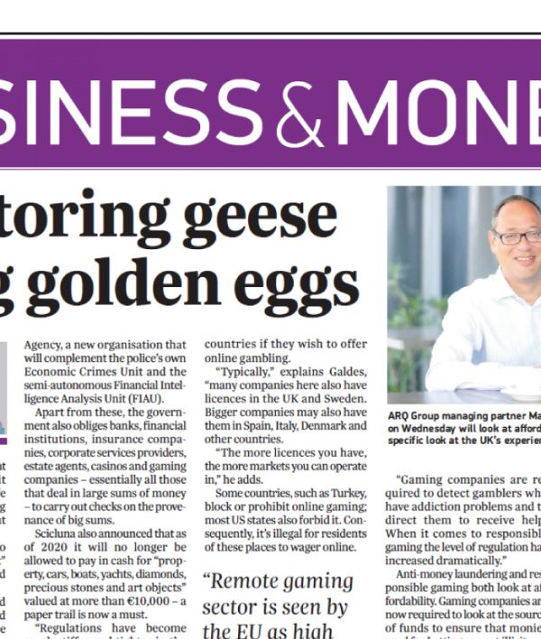 Monitoring geese laying golden eggs