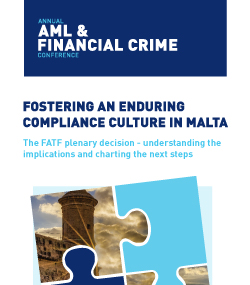 ARQ Group and Malta Bankers' Association to host conference on the FATF plenary decision – understanding the implications and charting the next steps