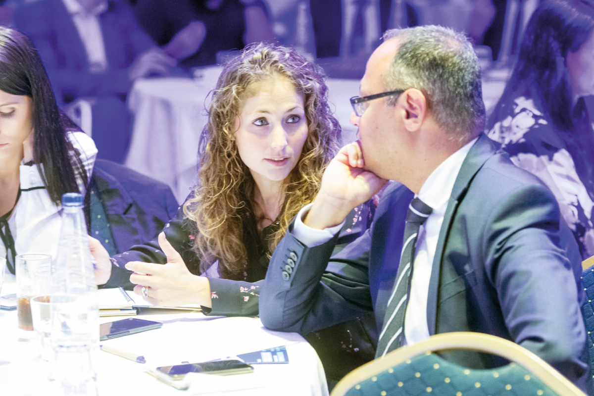 Martina Mifsud & Manfred Galdes at the Gaming Compliance Forum